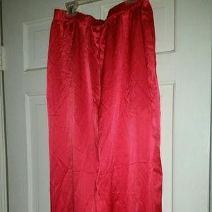 Jones New York NWT 100%silk Orange Pants L